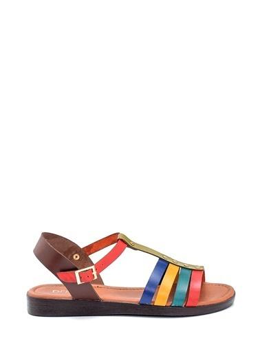 Derimod Kadın Sandalet (107) Casual Renkli